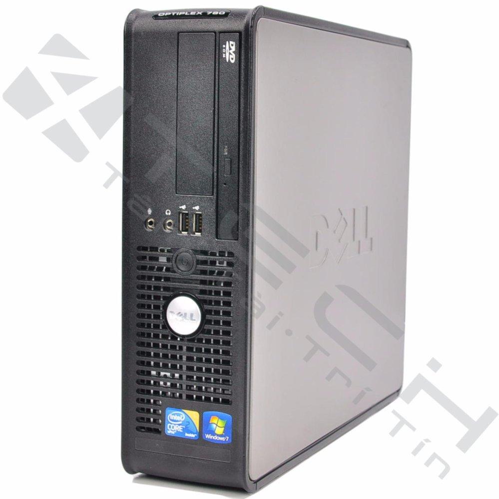 Máy tính đồng bộ Dell Optiplex 780 Ram 2GB, 160GB HDD (Xám) – Hàng nhập khẩu