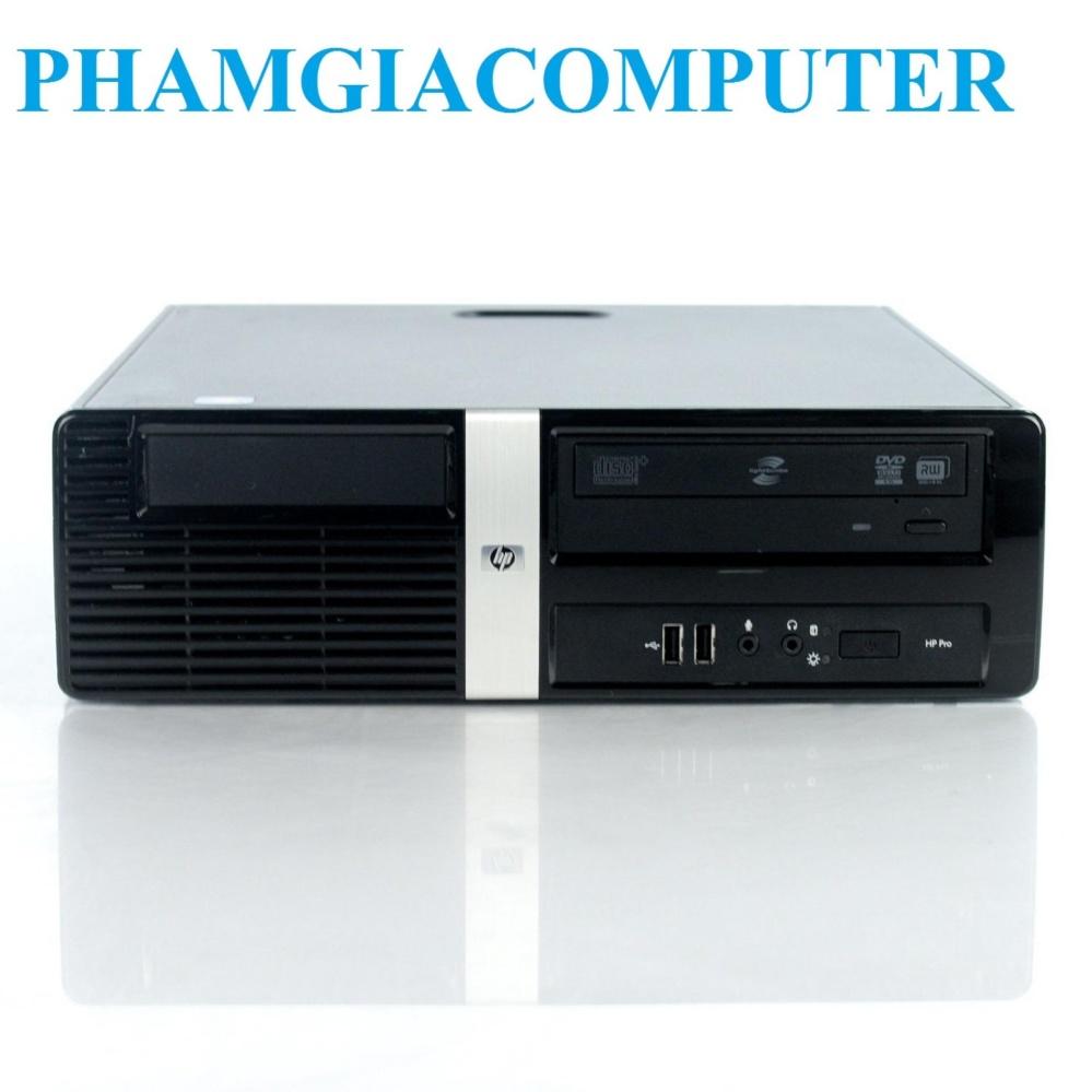 Máy tính đồng bộ HP 3000 Pro SFF Core E8400 , 4GB RAM3, 160GB HDD (Đen)