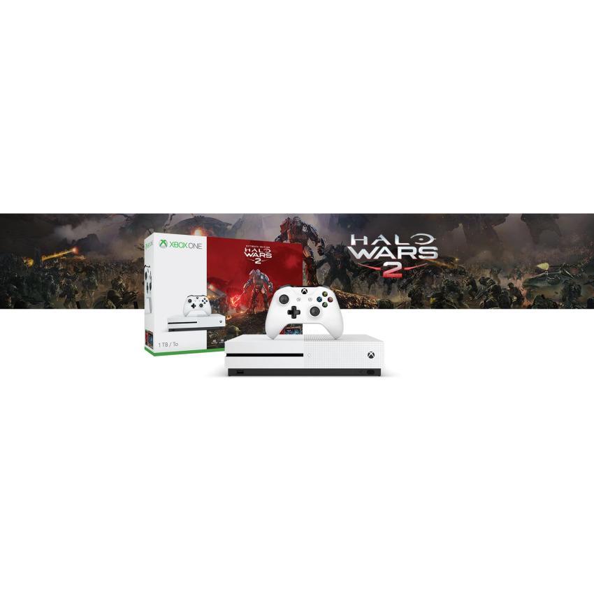 Máy Xbox One S 1TB - Halo Wars 2 Ultimate Edition Bundle (hàng nhập khẩu)