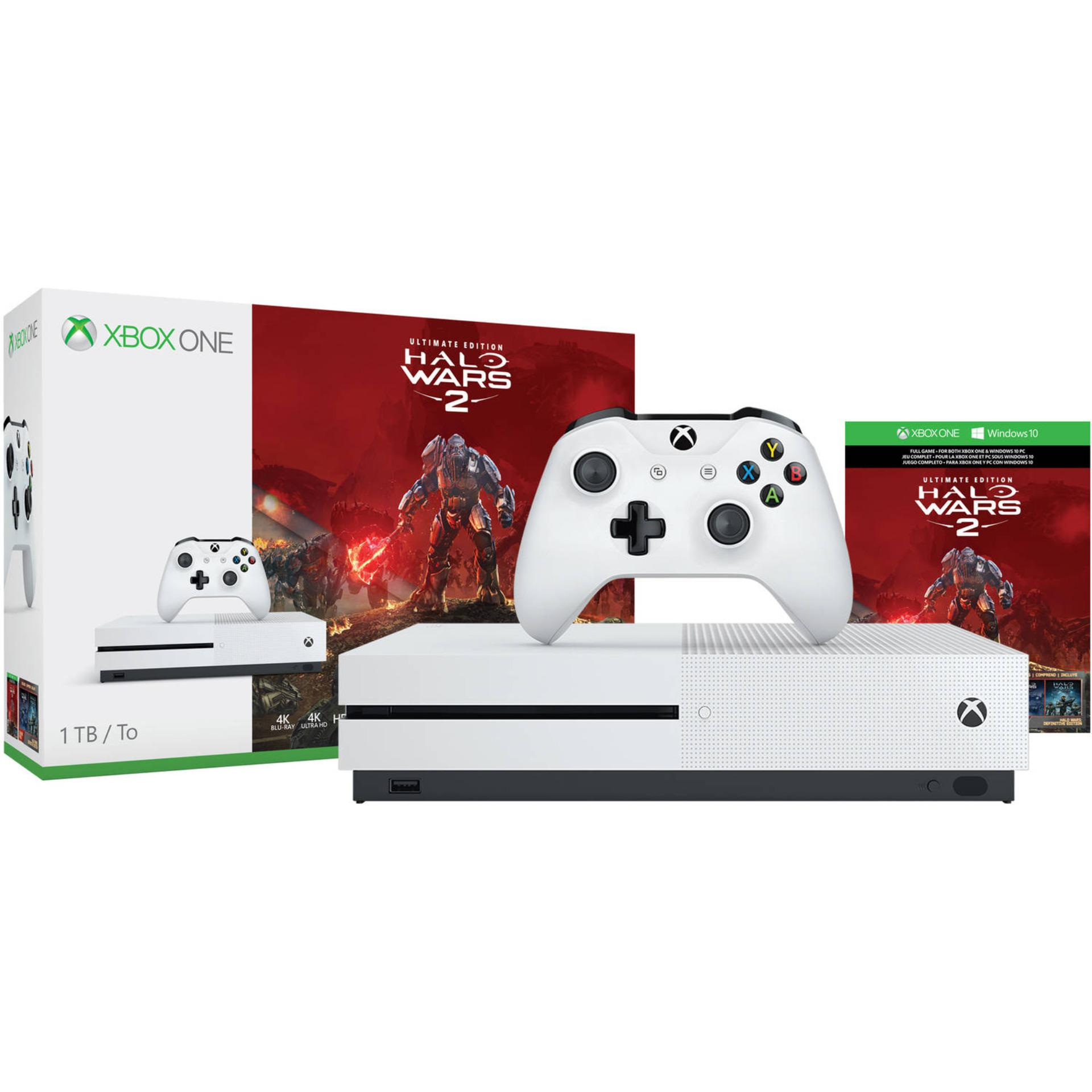 Chỗ nào bán Máy Xbox One S 1TB – Halo Wars 2 Ultimate Edition Bundle (hàng nhập khẩu)