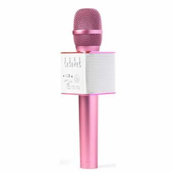 Mic Karaoke Kiêm Loa Bluetooth MicGeek Q9 (màu hồng)