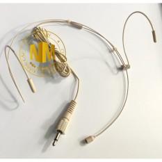 Micro Đeo tai Sennheiser 3.5mm vặn răng Trong