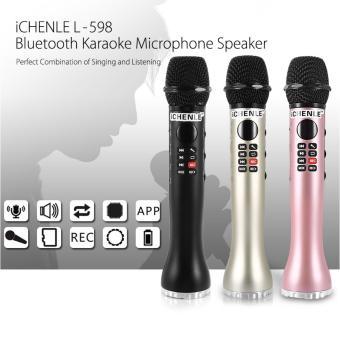 Micro Karaoke Bluetooth cao cấp thế hệ mới L-598 âm thanh chấtlượng (đen) - 8404802 , OE680ELAA6ET50VNAMZ-11820458 , 224_OE680ELAA6ET50VNAMZ-11820458 , 599000 , Micro-Karaoke-Bluetooth-cao-cap-the-he-moi-L-598-am-thanh-chatluong-den-224_OE680ELAA6ET50VNAMZ-11820458 , lazada.vn , Micro Karaoke Bluetooth cao cấp thế hệ mới L-5