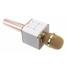 Micro karaoke kèm loa có bluetooth Q7 tích hợp tính năng thông minh 3 in 1- 2018 (vàng)