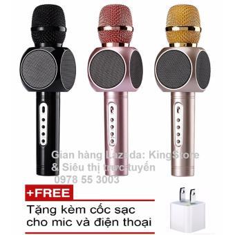 Micro kèm Loa Bluetooth cao cấp Magic E103 đa năng hát Karaoke +Tặng kèm Cốc sạc cho Mic và điện thoại - 8288307 , NO007ELAA2C6TYVNAMZ-4008110 , 224_NO007ELAA2C6TYVNAMZ-4008110 , 978000 , Micro-kem-Loa-Bluetooth-cao-cap-Magic-E103-da-nang-hat-Karaoke-Tang-kem-Coc-sac-cho-Mic-va-dien-thoai-224_NO007ELAA2C6TYVNAMZ-4008110 , lazada.vn , Micro kèm Loa Bluet