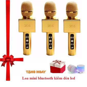 Micro kèm loa Bluetooth cao cấp X6 hát Karaoke tặng loa bluetooth - 8398699 , OE680ELAA51WN6VNAMZ-9311406 , 224_OE680ELAA51WN6VNAMZ-9311406 , 750000 , Micro-kem-loa-Bluetooth-cao-cap-X6-hat-Karaoke-tang-loa-bluetooth-224_OE680ELAA51WN6VNAMZ-9311406 , lazada.vn , Micro kèm loa Bluetooth cao cấp X6 hát Karaoke tặng loa
