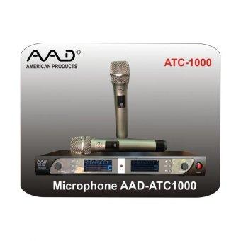 Micro không dây AAD ATC-1000 (Bạc)