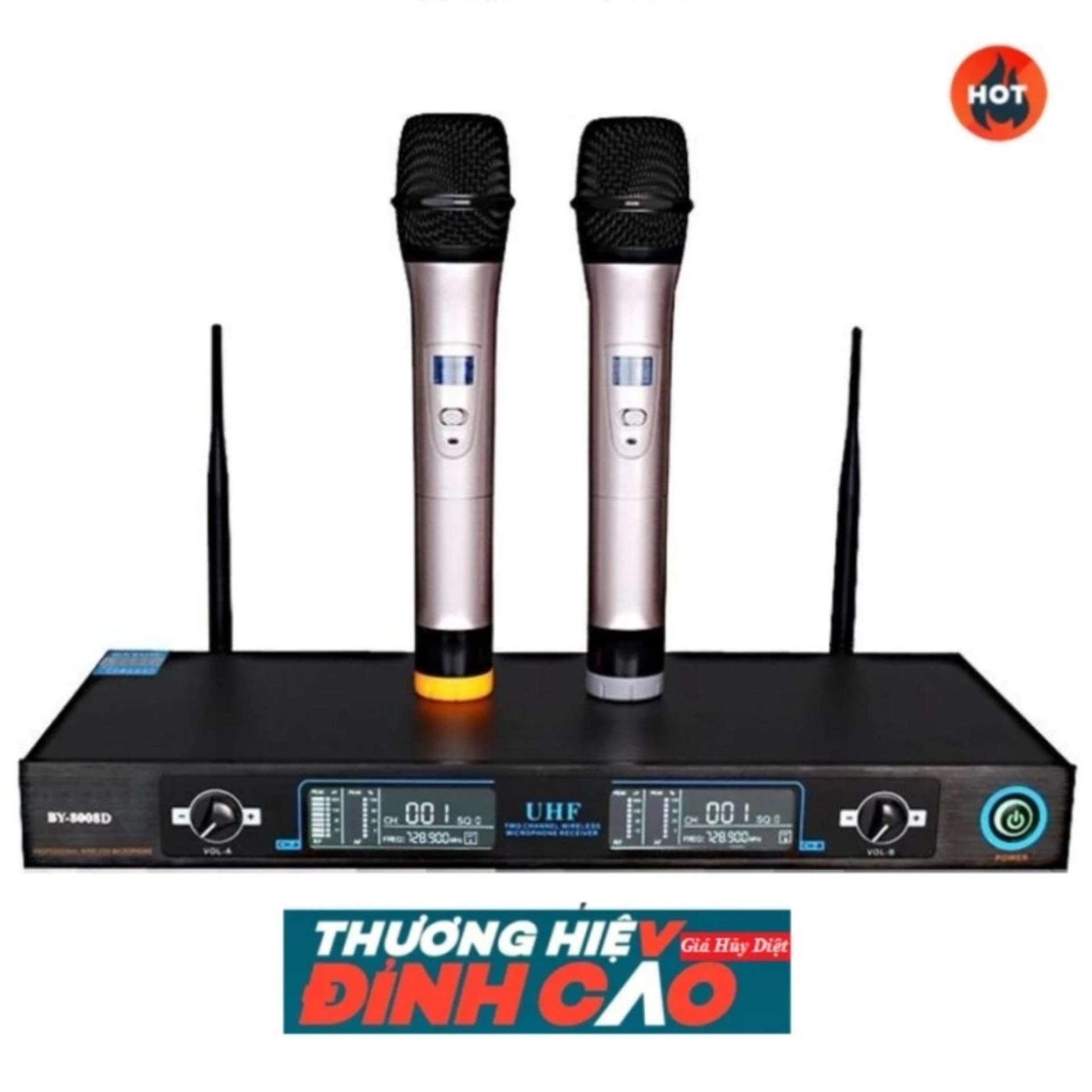 Micro Không Dây Shure Ugx9 Ii Đắt Hơn Loại Này QB8026, chỉnh âm thanh karaoke - Hàng nhập khẩu Xả...