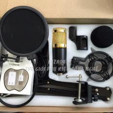 Micro Thu Âm BM900 Full Bộ Chân kẹp – Lưới lọc