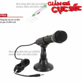 Micro thu âm giá rẻ hàng cao cấp cho PC, laptop DM-099 + Tặng lấyráy tai có đèn - 8394789 , OE680ELAA4MO9OVNAMZ-8511051 , 224_OE680ELAA4MO9OVNAMZ-8511051 , 350000 , Micro-thu-am-gia-re-hang-cao-cap-cho-PC-laptop-DM-099-Tang-layray-tai-co-den-224_OE680ELAA4MO9OVNAMZ-8511051 , lazada.vn , Micro thu âm giá rẻ hàng cao cấp cho PC, lap