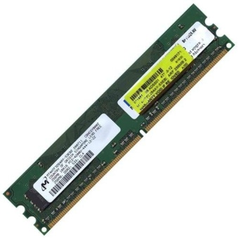 Micron Mt4Htf3264Ay-53Eb1 200531 256Mb Ddr2Pc2-4200U-444-12-Zz533Mhz Cl4 - intl