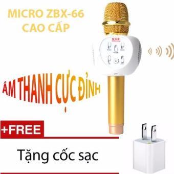 Microphone Karaoke Loa Bluetooth ZBX-66 + Tặng Cốc sạc - 8373852 , OE680ELAA1XTRLVNAMZ-3294233 , 224_OE680ELAA1XTRLVNAMZ-3294233 , 1298000 , Microphone-Karaoke-Loa-Bluetooth-ZBX-66-Tang-Coc-sac-224_OE680ELAA1XTRLVNAMZ-3294233 , lazada.vn , Microphone Karaoke Loa Bluetooth ZBX-66 + Tặng Cốc sạc