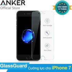 Miếng dán cường lực ANKER GlassGuard cho iPhone 7