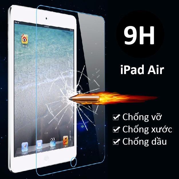 Miếng dán kính cường lực cho iPad Air (trong suốt)