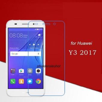 Miếng dán kính cường lực Glass 2.5D cho Huawei Y3 2017 (trong suốt)
