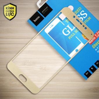 Miếng dán màn hình cường lực Vivo V5 Full hiệu HOCO (Vàng)