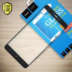 Miếng dán màn hình cường lực Xiaomi Redmi Note 4X Full hiệu HOCO (Đen)