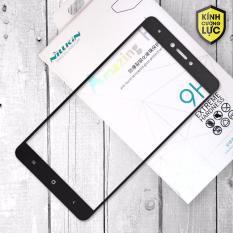 Miếng dán màn hình cường lực Xiaomi Redmi Note 4X Full hiệu Nillkin (Đen)