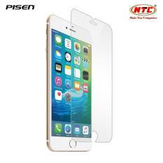 Miếng dán mặt kính cường lực Pisen cho iPhone 7 Plus – mặt trước (Trong suốt)