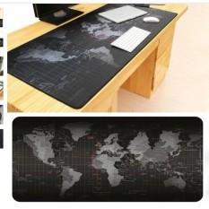 Di chuột (Mousepad) bản đồ thế giới (80x30cm)