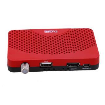 Mini Size DVB-S2 Receiver TV BOX + Wifi D (US) - intl