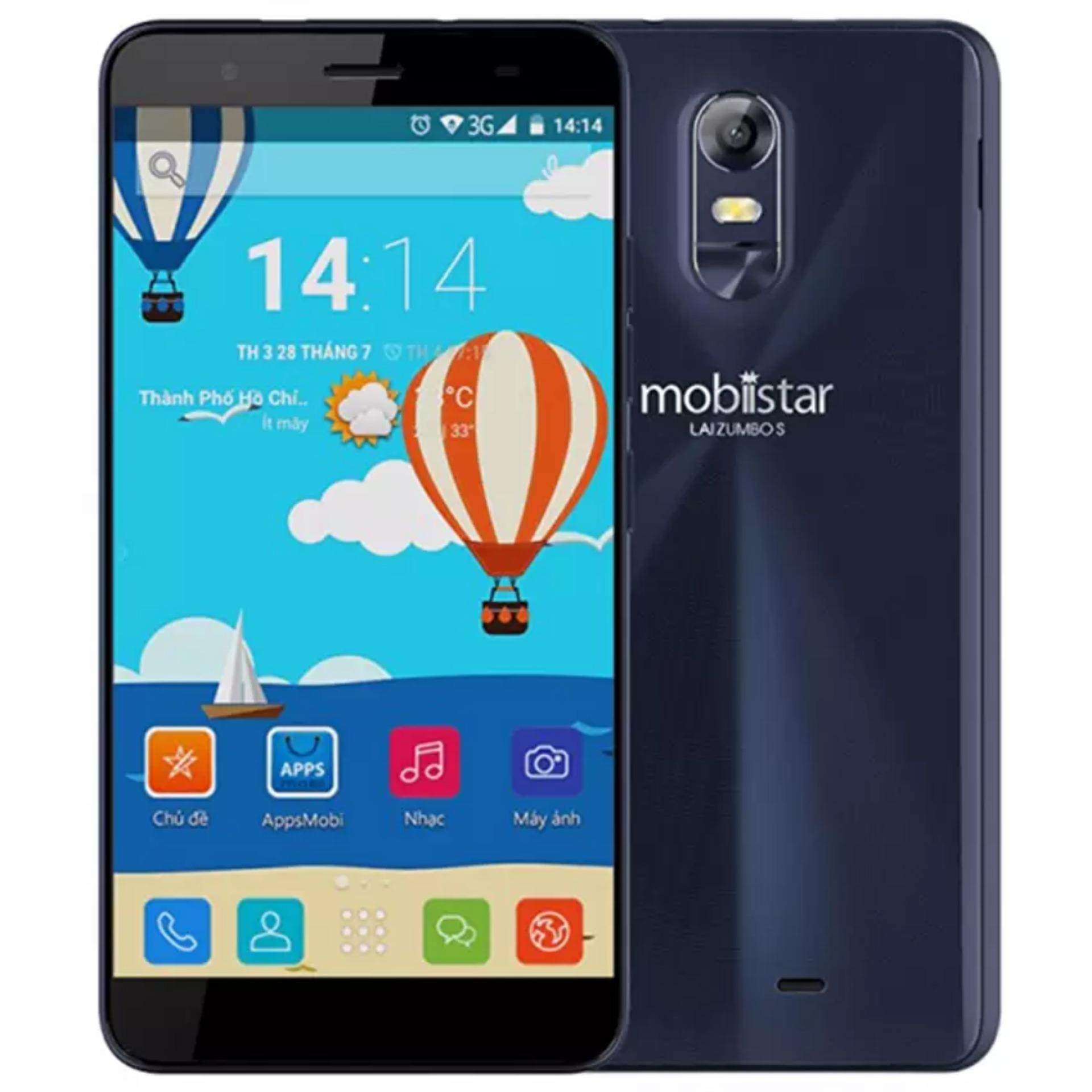 Mobiistar LAI Zumbo S 16GB (Đen)- Hãng Phân phối chính thức