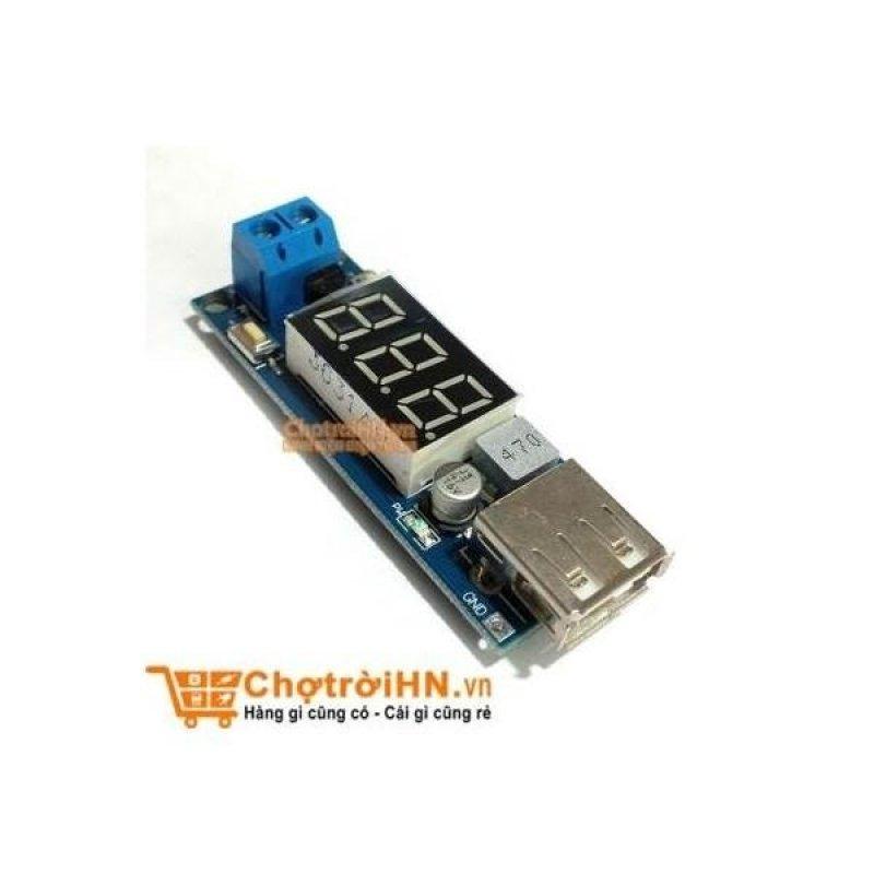Bảng giá Module Buck DC-DC (IN +4.5~40VDC OUT 5V/2A USB) Sạc Điện Thoại Phong Vũ