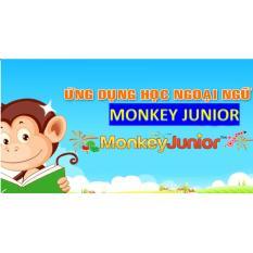 phần mềm học tiếng Anh cho bé từ 1 đến 10 tuổi Monkey Junior – gói đa ngôn ngữ 2 năm sử dụng