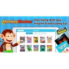 Monkey Stories – chương trình học tiếng Anh bằng truyện tranh tương tác cho bé từ 2 đến 15 tuổi – Gói sử dụng 1 năm