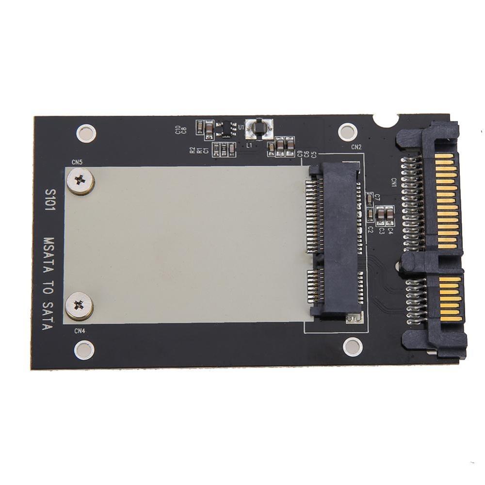"""MSATA SSD sang 2.5  """"SATA Convertor Adapter-quốc tế"""