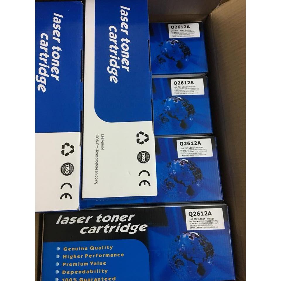 Đánh giá Hộp mực 2900/3000/Hp 1010/1020 mã 12A Blue nhập khẩu Tại HT G8