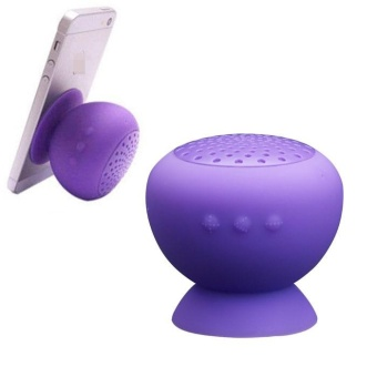Mushroom Bluetooth Speaker Wireless Hands free Waterproof Purple - intl - 10246355 , HA308ELAA8TVMOVNAMZ-17315096 , 224_HA308ELAA8TVMOVNAMZ-17315096 , 558000 , Mushroom-Bluetooth-Speaker-Wireless-Hands-free-Waterproof-Purple-intl-224_HA308ELAA8TVMOVNAMZ-17315096 , lazada.vn , Mushroom Bluetooth Speaker Wireless Hands free