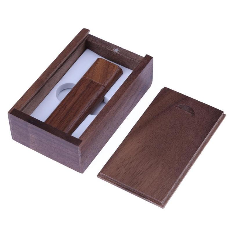 Bảng giá Natural Walnut Case USB 2.0 Port Flash Memory Disk(Coffee)-4GB With Box - intl Phong Vũ
