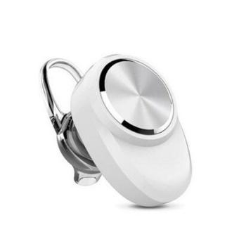 New BluetoothV4.1 Headset Auriculares Earphone (White)