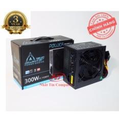 Nguồn công suất thực dành cho máy tính Vision VSP X300W Fan 14cm – Kèm dây nguồn (Đen) – Hãng phân phối chính thức