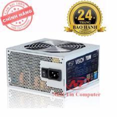 Nguồn dành cho máy tính bàn Vision 700W – Fan 12cm (Bạc) – Hãng phân phối chính thức