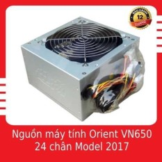 Nguồn máy tính Orient VN650 24 chân Model 2017