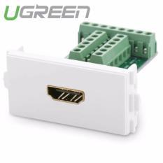 Nhân HDMI 1.4 lắp mặt ốp tường cao cấp không cần hàn UGREEN 20315