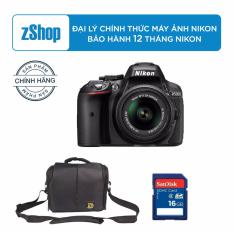 Nikon D5300 + Kit AF-S 18-55mm f/3.5-5.6G VR + Tặng túi Nikon + Thẻ nhớ SD Sandisk 16GB
