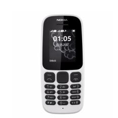 Nokia 105 1 Sim (2017) white Hãng phân phối chính thức
