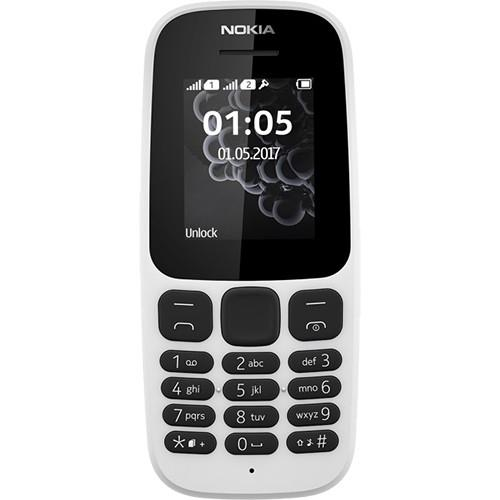 NOKIA 105 2 sim (Trắng) - Hãng phân phối chính thức