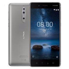 Nokia 8 64Gb 4Gb Ram (Bạc) – Hãng phân phối chính thức