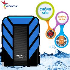 Giá Ổ cứng di động 1TB CHỐNG NƯỚC , CHỐNG SHOCK ADATA HD710 (Đen phối xanh)