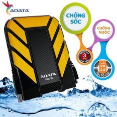 Ổ cứng di động 1TB CHỐNG NƯỚC , CHỐNG SHOCK ADATA HD710 (Đen phối vàng) – Hãng phân phối chính thức