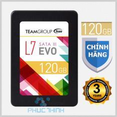 Ổ cứng SSD 120GB Team L7 (chíp Marvell controller của Mỹ ) EVO Sata III – Hãng phân phối chính thức