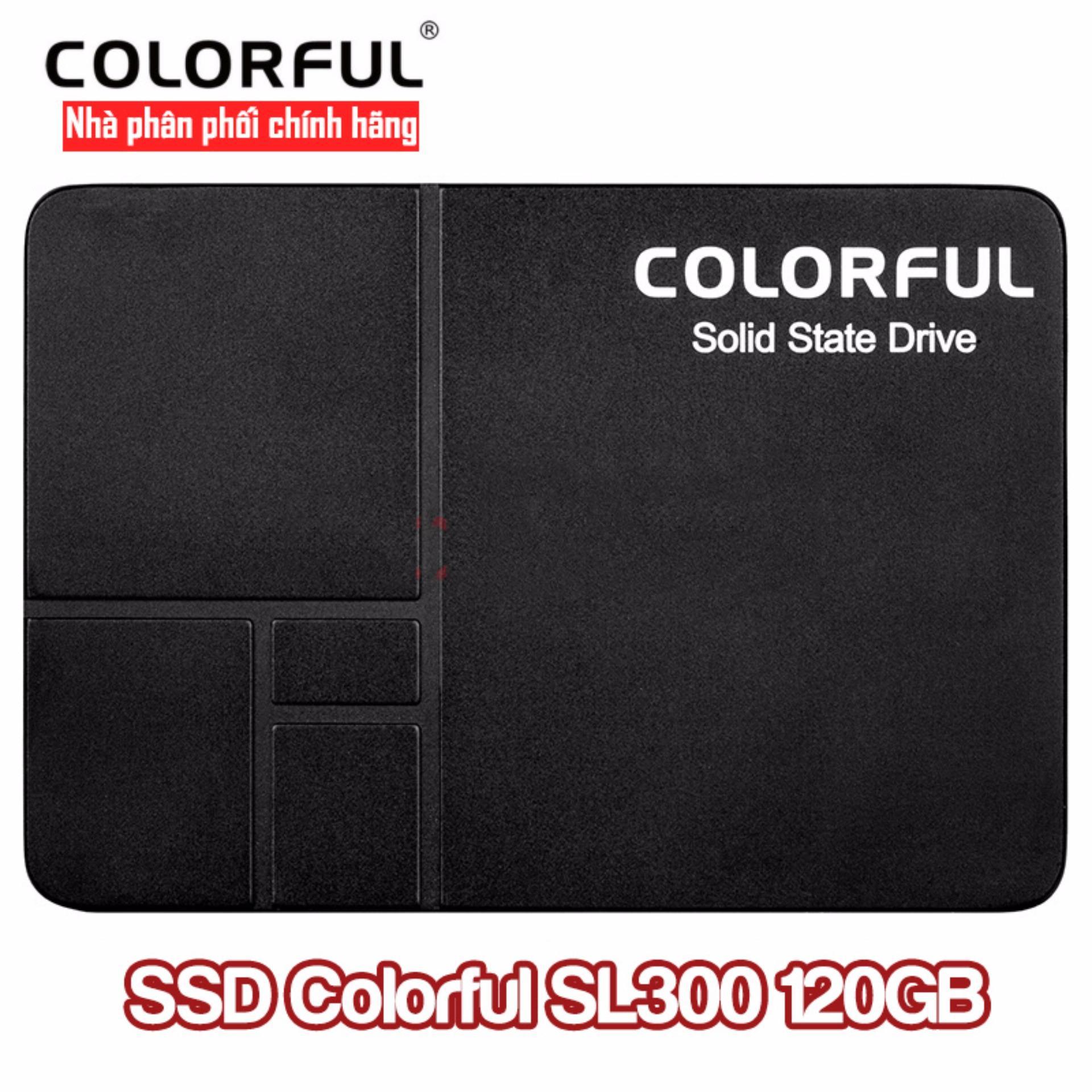 Mua Ổ cứng SSD Colorful SL300 120Gb ở đâu tốt?