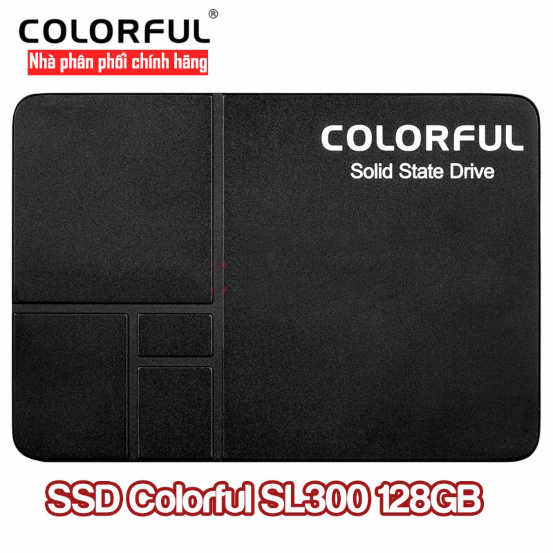 Mua Ổ cứng SSD Colorful SL300 128Gb Tại HolaHola (Tp.HCM)