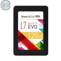 Ổ cứng SSD TEAM L7 EVO Sata III 120GB (Đen) – Hãng phân phối chính thức