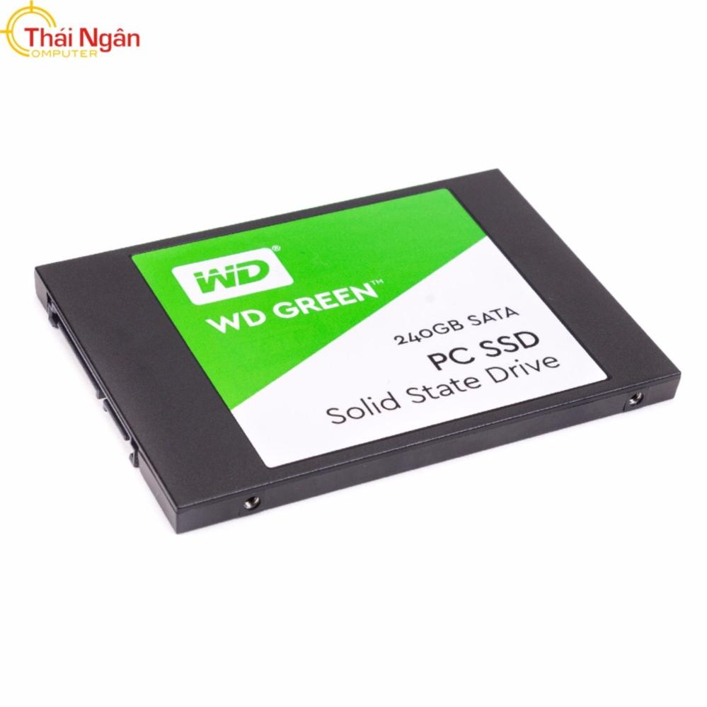 Ổ cứng SSD WD GREEN 240GB SATA III – WDS240G2G0A Đang Bán Tại Công ty TNHH Tin Học Thái Ngân