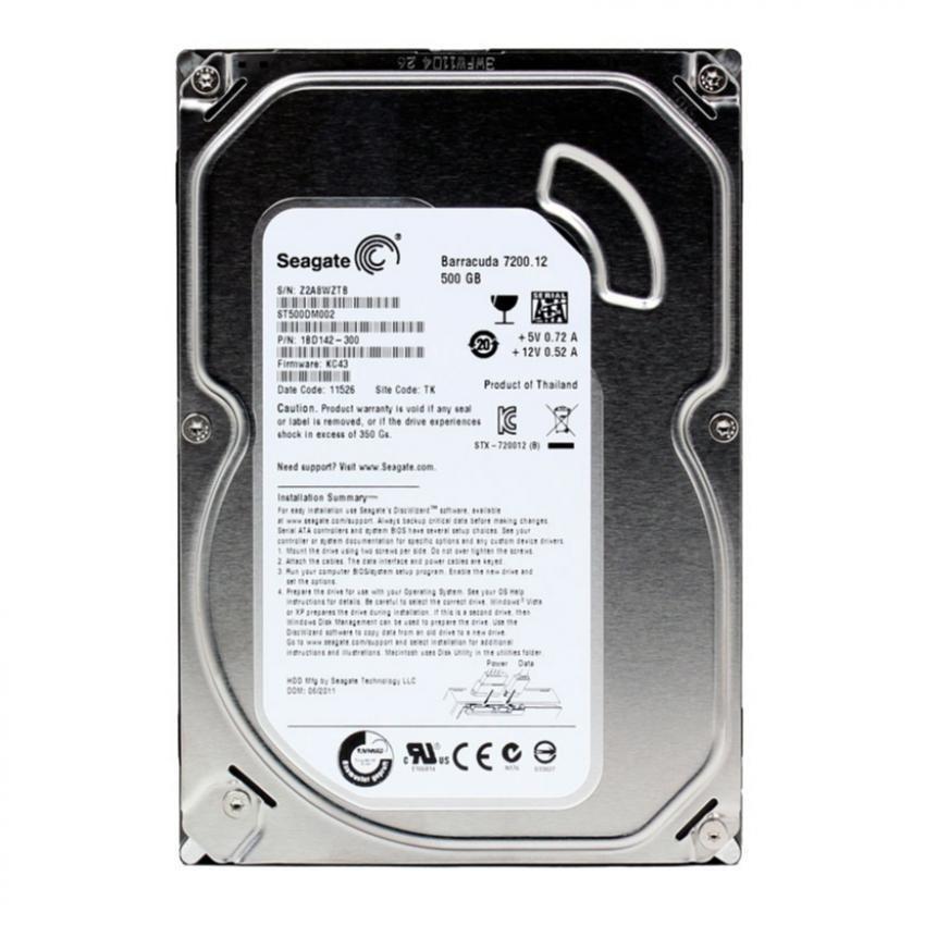 Nên mua Ổ đĩa cứng Seagate ST500DM002 500Gb SATA3 3.5″ cho máy tính để bàn ở May Tinh Minh Chau